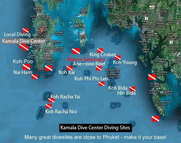 Diving Thailand La Thailande avec un guide local Francophone