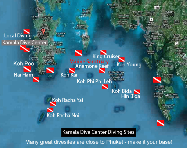 Andaman sea association des guides francophone de thailande ttn thailand travel news - Where to dive in thailand ...